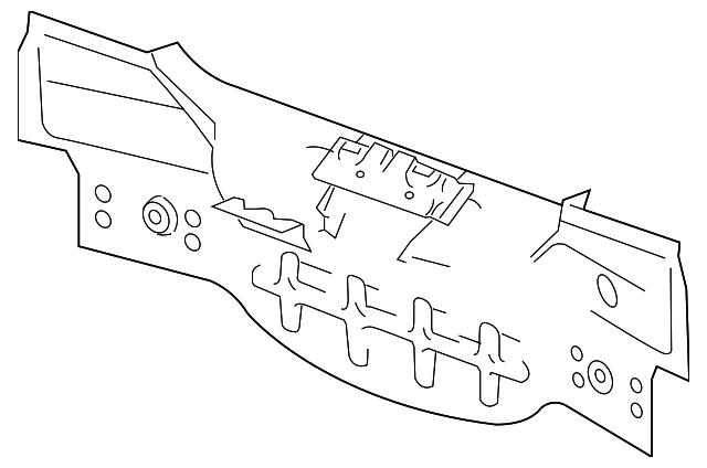 Oem 2007 Gmc Acadia Rear Suspension Parts