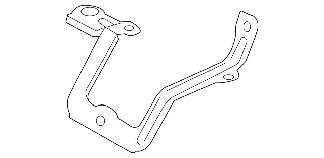 rear oxygen sensor bracket