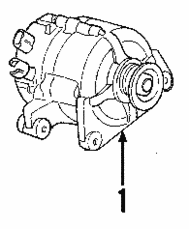 Alternator - Ford (8L8Z-10V346-CARM)