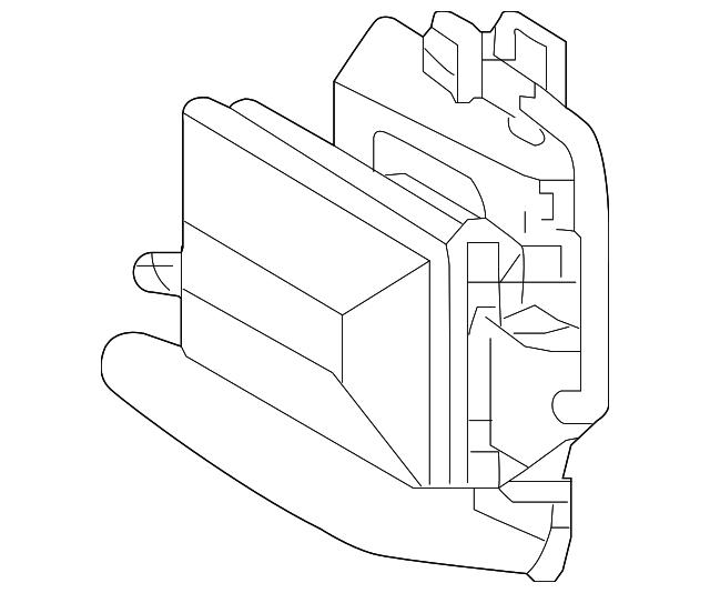 Blind Spot Radar Kia 95821 C6010 Quirk Parts