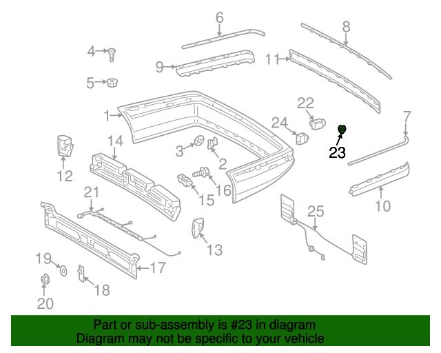 Sensor spacer ring mercedes benz 000 542 05 51 7046 for Mercedes benz part numbers list