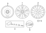 Wheel, Alloy - Subaru (28111CA090)