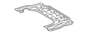 Rear Shield - Lexus (51442-30181)