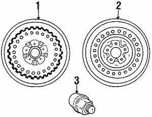 Wheel - Mopar (4684922)
