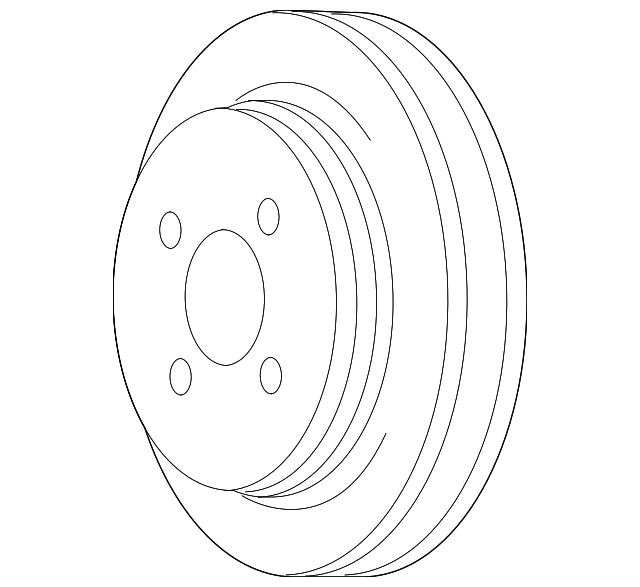2001 2011 Ford Pulley 9w7z 8509 A