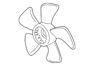 Fan, Cooling - Acura (19020-PND-003)