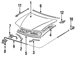 Switch Assembly, Hood