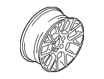 Wheel, Alloy - BMW (36-11-6-775-991)