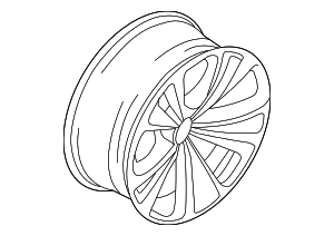 Wheel, Alloy - BMW (36-11-6-775-403)