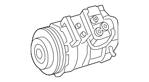 Compressor - Mercedes-Benz (004-230-19-11)