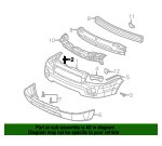 Bumper Cover Retainer - GM (11519444)