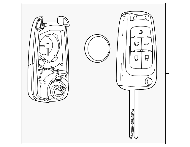 remote start key  uncoded
