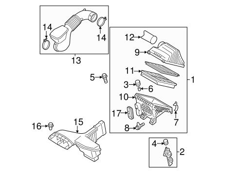 Sonata Engineair Intake Parts