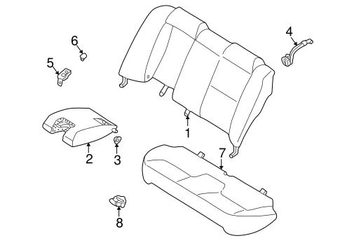 2003 mitsubishi galant engine diagram rear seat components for 2003 mitsubishi galant auto parts  components for 2003 mitsubishi galant