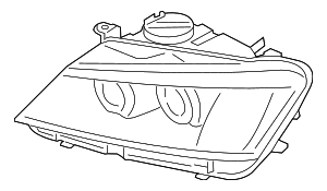 Headlamp Assembly - BMW (63-11-7-222-026)