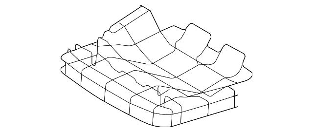 2007 2015 Audi Q7 Cushion Frame 4l0 883 312