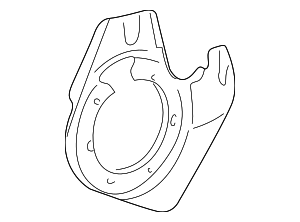 Splash Shield - Porsche (996-351-801-04)