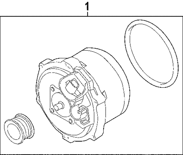 Alternator - Land-Rover (LR005866)