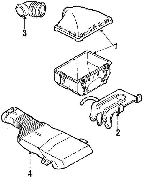 1988 Mercury Grand Marquis Engine Diagram