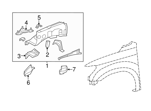 Inner Components for 2015 Toyota Tundra #0