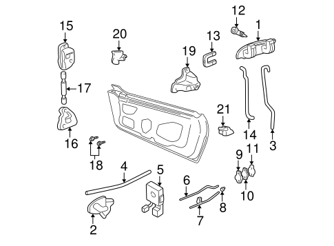 Gm Reinforcement 15299681 further Parking Brake Diagram D23 in addition CE08560 together with Wiring as well Corvette. on 65 cadillac convertible