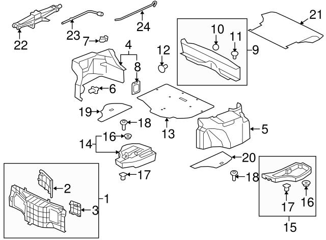 Mitsubishi Fender Liner Clip Mr288150