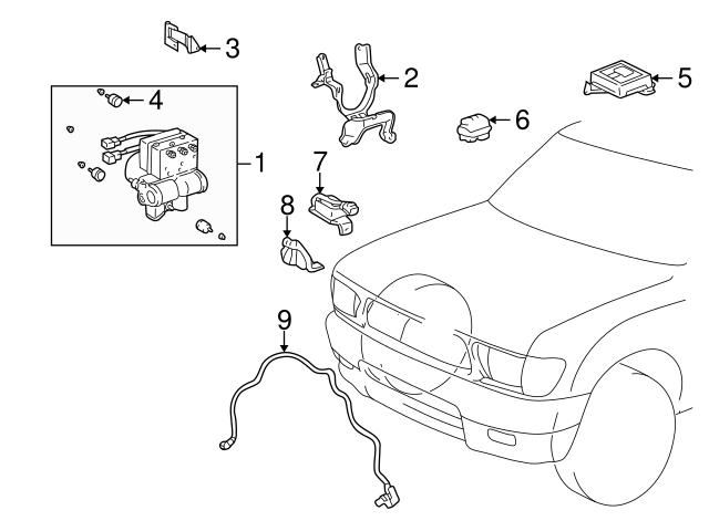 Front Speed Sensor