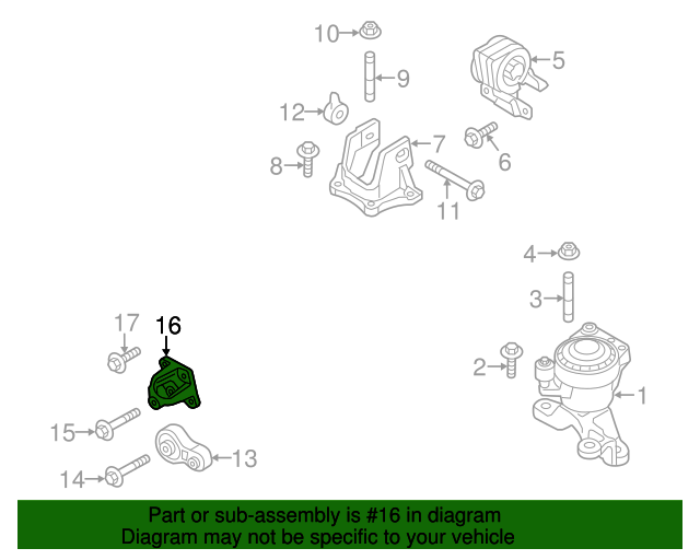 Ford Edgelincoln Mkx Engine Rear Mount Bracket Ct4z6e042a Rhtascaparts: Mkx Engine Diagram At Gmaili.net