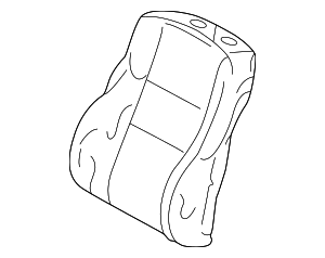 Seat Back Cover - Mercedes-Benz (202-910-44-47-9A84)