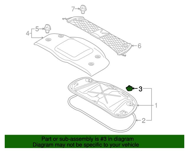 2000 porsche boxster engine diagram engine cover clip porsche  986 551 547 00  sunset porsche parts  engine cover clip porsche  986 551