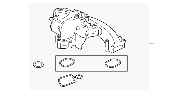 Fuel Injection Plenum Gasket Ford BC3Z-9439-B