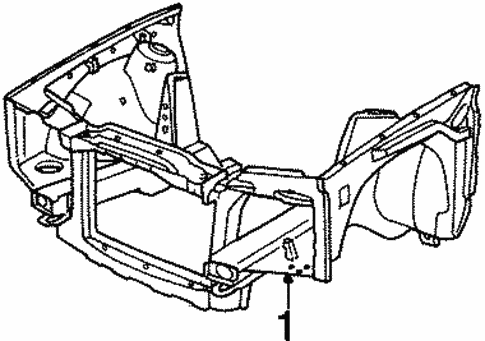 Inner Structure for 1991 BMW 325i #0