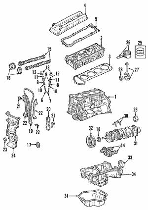 Engine Parts | Factory Nissan Parts