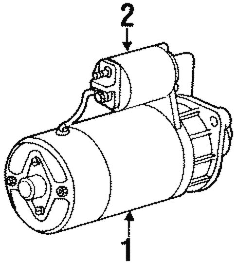 Starter For 1999 Bmw 323i