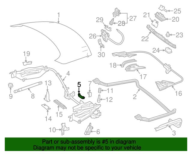 Hinge assembly bracket mercedes benz 231 690 00 14 for Oem parts for mercedes benz