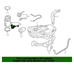 Fuel Sender And Hanger Assembly - Volkswagen (1K0-919-673-K)