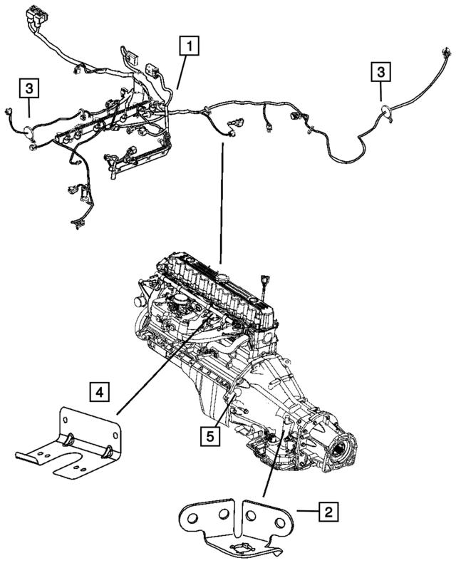2006 Jeep Wrangler Swb Engine Wiring 56047554ad