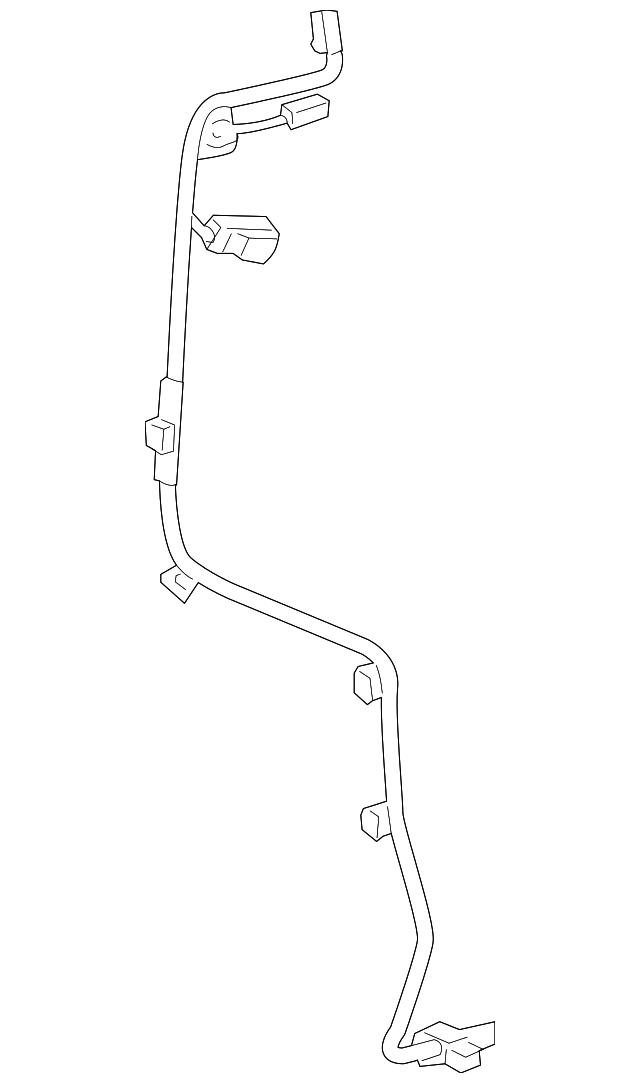 2010 2018 Toyota 4runner Wire Harness 82507 35040