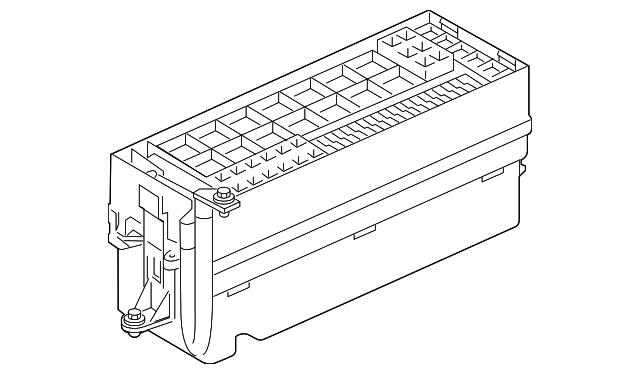 genuine oem fuse box part  lr032733 fits 2010