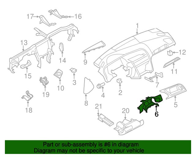 Audi Exterior Diagram