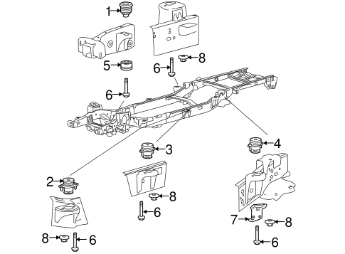 Body/Frame & Components for 2013 Ford F-150 #1