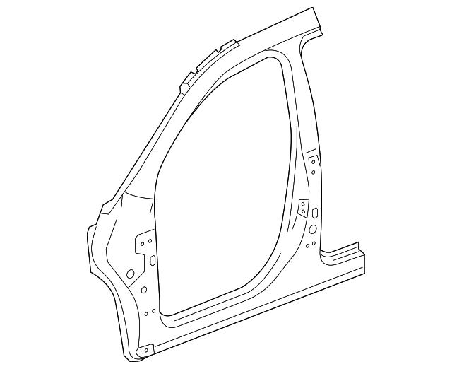 2010 2017 Gmc Terrain Uniside Panel 23218872
