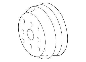 Pulley - Toyota (16173-31040)
