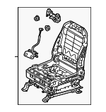 Seat Sub-Assembly, Front Left-Hand