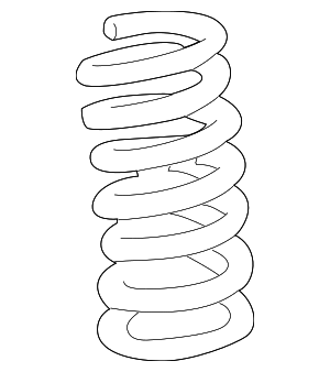 Coil Spring - GM (20760346)