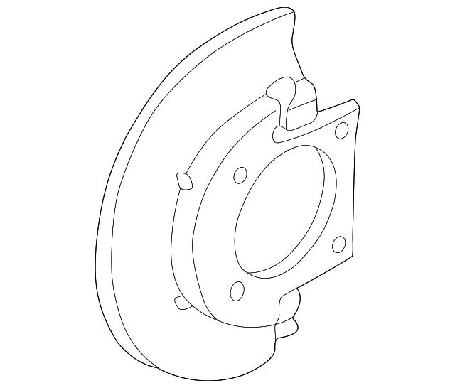 1999 2019 Gm Splash Shield 25846355