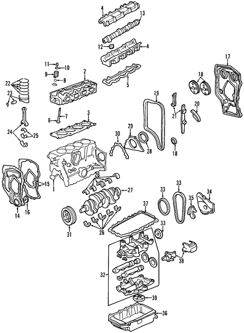 1998 lumina engine diagram exhaust 1998 sunfire engine diagram oem 2001 pontiac sunfire mounts parts | gmpartsonline.net