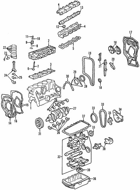 Mounts For 1996 Pontiac Sunfire Gm Parts Online