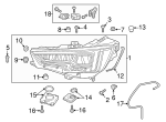 Headlamp Assembly - Audi (8W0-941-773-B)
