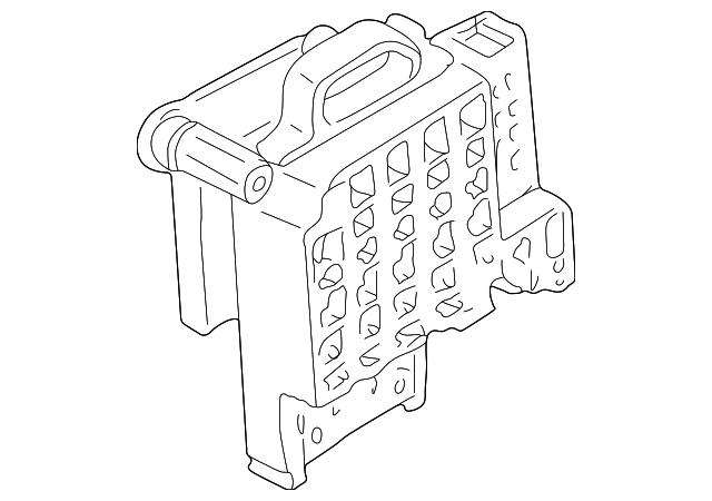 genuine gm fuse box 12110746